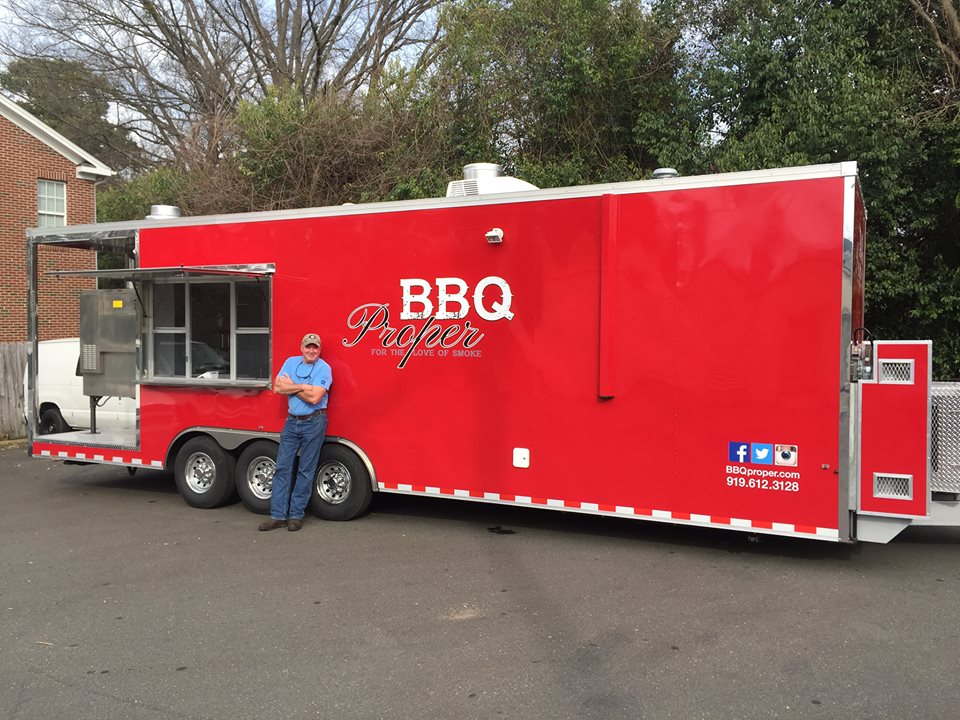 BBQ Proper Food Truck @ Fainting Goat Brewing Company