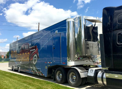 Indiana Historical Society's 'History on Wheels' @ Downtown Rochester
