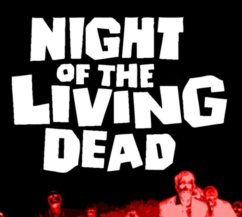 'Night of the Living Dead' and Zombie Walk to Amelio's