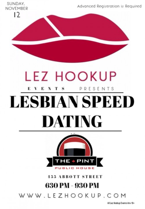 How to do speed hookup event