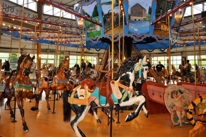 Free Rides at Cass County Dentzel Carousel